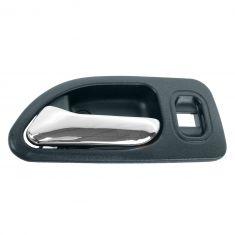 94-97 Honda Accord 4DR (w/Power Locks) Rear (Blue w/Chrome Lever) Inside Door Handle LR