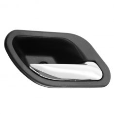 01 (from 3/1/01)-03 BMW 525i, 530i, 540i, M5 Black w/Chrome Lever Inside Door Handle RF = RR