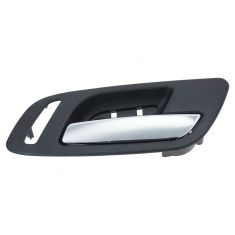 07-12 GM Full Size PU & SUV (w/o Heated Seat) Front Door Inside Handle (Ebony & Chrome) RF