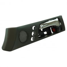 02-03 Lexus ES300; 04-06 ES330 (w/ Memory Adjust) Front Inside Black & Chrome Door Handle LF