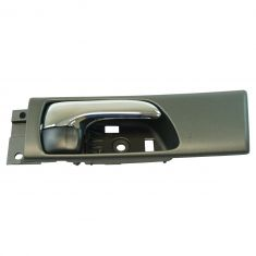 02-03 Lexus ES300; 04-06 ES330 Rear Inside Black & Chrome Door Handle RR