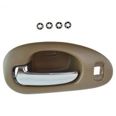 98-04 300M, Concord; 99-01 LHS Front Inner Beige w/Chrome Pull Door Handle LF
