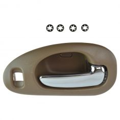 98-04 300M, Concord; 99-01 LHS Front Inner Beige w/Chrome Pull Door Handle RF