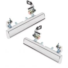 1976-88 GM Chrome Exterior Door Handle Pair