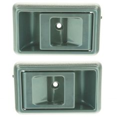 88-92 Corolla Gray Interior Door Handle Pair