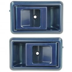 88-92 Toyota Corolla Blue Inside Door Handle Pair