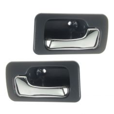 1990-93 Accord Interior Door Handle Blue Pair