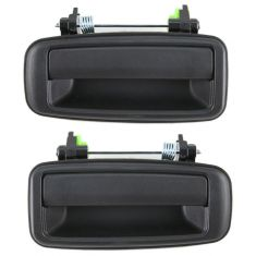 1988-92 Toyota Corolla Exterior Door Handle Rear Pair