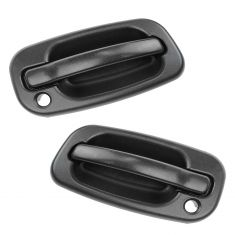1999-07 Chevy Silverado Outside Door Handle Pair