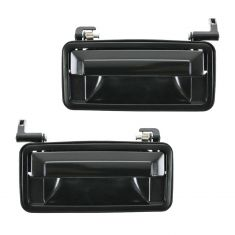 87-94 Chevy Corsica Ext Door Handle Blk Pair