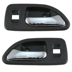 94-97 Honda Accord Sedan Inside Door Handle Rear Pair