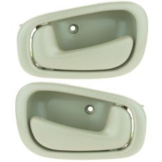 1998-02 Corolla Prizm Door Handle Int Tan Pair