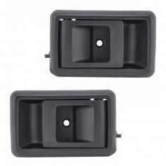 88-92 Toyota Corolla Int Door Handle Black Front Pair