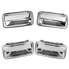 95-01 GM Full Size Truck and SUV Outside Chrome Door Handle Set