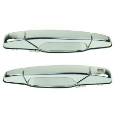 07-11 GM Full Size PU & SUV Chrome Outside Door Handle Front Pair
