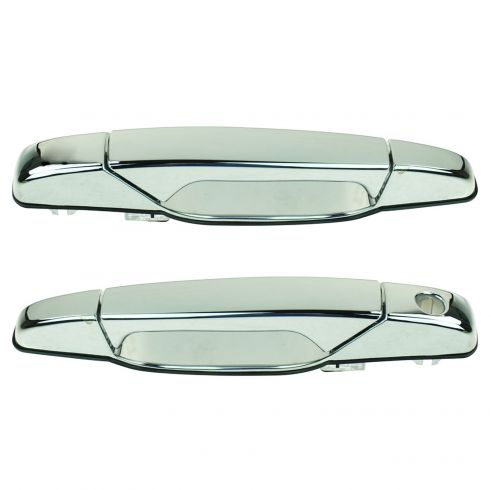 How To Install Replace Outside Front Door Handle 2007-13 Chevy ...