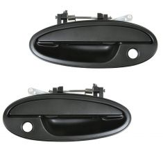 97-05 Buick Park Ave; 97-99 Riviera; Olds Aurora Smooth Blk Ext Door Handle w/Hole LF