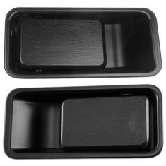 1987-06 Jeep Wrangler 1/2 Door Blk Out Door Handle PAIR