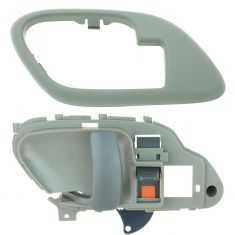 95-02 Chev PU Truck Int Door Handle & Bezel Gray LH Set