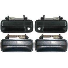 1990-93 Accord 4dr Ext Door Handle Manual Lock Set of 4