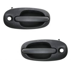 96-00 Dodge Caravan Ext Door Handle PAIR