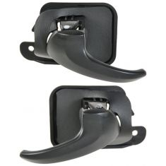 1994-04 Ford Mustang Inside Door Handle Black PAIR