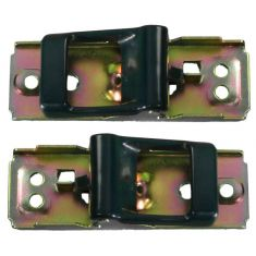 1980-86 Nissan Pickup Door Handle Inside Blue PAIR