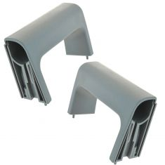 07-12 Chevy Silverado, GMC Sierra Front or Rear Door Inside Pull Handle (Titanium) PAIR