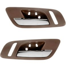 07-12 GM Full Size PU & SUV w/Htd Seat & w/o Memory Frnt Door Inside Handle (Cashmere & Chrome) PAIR