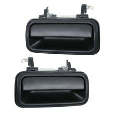 98-04 Isuzu Rodeo; 99-02 Passport Rear Outside Textured Black Door Handle PAIR