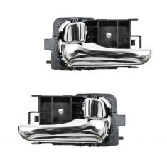 00-03 Nissan Sentra Chrome Inside Door Handle PAIR