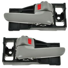 00-06 Toyota Tundra (Reg & Access Cab) Charcoal Front Door Inside Handle PAIR