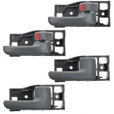 00-06 Toyota Tundra (Access Cab) Gray Front & Rear Door Inside Handle (Set of 4)
