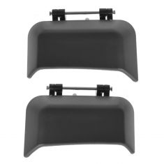 07-10 Jeep Compass Rear Outside Textured Black Door Handle PAIR