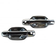 04-08 Chevy Colorado, GMC Canyon Front Outer Chrome Door Handle PAIR