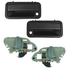 95-01 Chevy GMC Truck Gray Inside & Outside Door Handle (Set of 4)