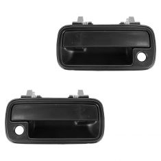 91-98 Suzuki Sidekick 4DR Front Door Outer Textured Black Handle PAIR