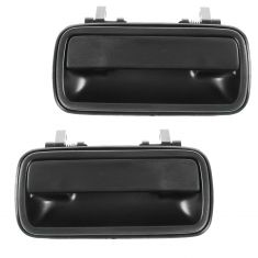 91-98 Suzuki Sidekick Rear Door Outer Textured Black Handle PAIR