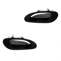 99-03 TL Rear Outer PTM w/Chrome Lever Door Handle PAIR