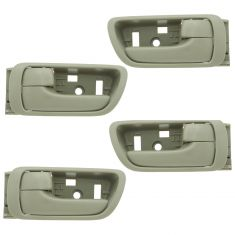 02-06 Toyota Camry Beige Inside Door Handle SET of 4