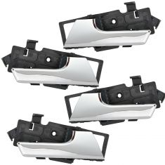 07-11 Chevy Aveo Sedan; 09-11 Aveo 5; 09-10 G3, Wave Hatchback Inside Chrome Door Handle SET of 4