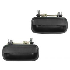 01-04 Toyota Tacoma Crew Cab Textured Black Rear Outside Door Handle PAIR