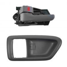 97-01 Toyota Camry Gray Inside Door Handle & Bezel LF = RF