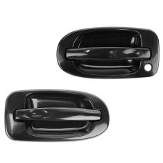 97-09 GM Mini Van Multifit Outside PTM Door Handle (RH w/o Keyhole) PAIR