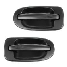 97-09 GM Mini Van Multifit Outside PTM Rear Sliding Door Handle (w/o Keyhole) PAIR