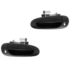 02-05 Honda Civic Hatchback Front PTM Outside Door Handle (w/Keyhole) PAIR