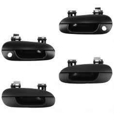 94-96 Mitsubishi Galant Front & Rear PTM Outside Door Handle Kit (Set of 4)