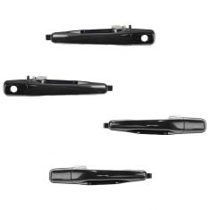 02-07 Mitsubishi Lancer; 03-06 Lancer Evo Front or Rear PTM Outside Door Handle Kit (Set of 4)