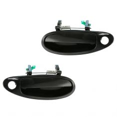 96-99 Infiniti I30; 95-99 Nissan Maxima Front PTM Outside Door Handle (w/Keyhole) PAIR