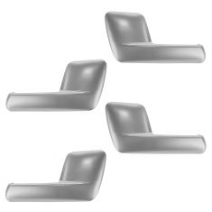 03-06 Ford Expedition, Lincoln Navigator Inside Satin Chrome Door Handle SET of 4
